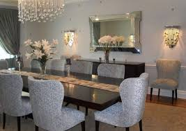 Architectural Mirror Dining Room Decoration Applied Large Decorating Ideas Interior Table Wall Decor Latest