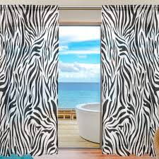 Zebra Living Rooms