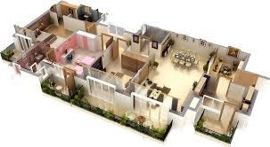 Good 3d House Blueprints And Cool Plans