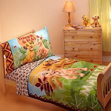 disney lion king jungle beat 4 piece toddler bedding set