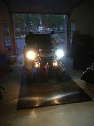 led headlight bulbs can am atv forum