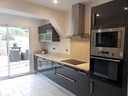 cuisine gris ardoise carrelage cuisine gris fonce idées de décoration capreol us