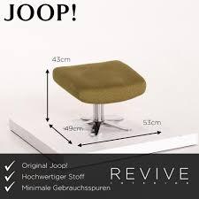 joop stoff sofa garnitur grün olivegrün 1x zweisitzer 1x hocker relaxfunktion funktion 13916