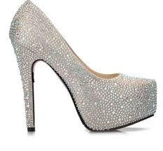 9 Colors Sparkly Glitter Diamonds Super Platform High Heels Prom