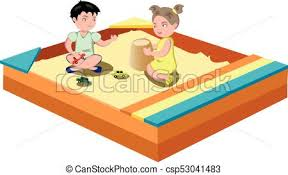 Hildren Play In The Sandbox