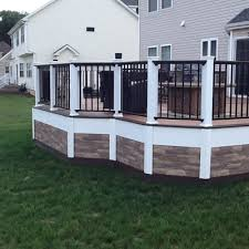 Metal Deck Skirting Ideas by 26 Most Stunning Deck Skirting Ideas To Try At Home Lattices