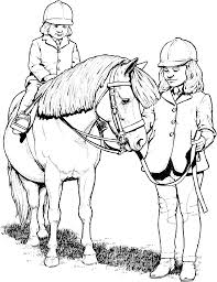 Printable Horse Coloring Pages For Kids Free