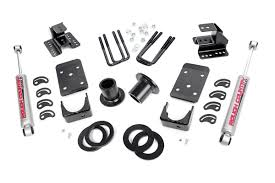 100 Truck Lowering Kits 12in 4in Kit For 0713 Chevy GMC 2wd 1500 Pickup