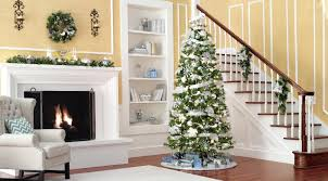 Pre Lit Christmas Tree Rotating Stand by Donner U0026 Blitzen Incorporated 7 5 Ft Pre Lit Clear Light Aspen