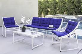 Cast Aluminum Patio Furniture With Sunbrella Cushions by Wrought Studio Crick Indoor Outdoor 4 Piece Aluminum Seating Group