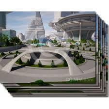 Future City Virtual Set