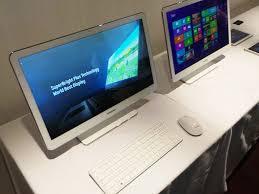 ordinateur de bureau tactile tout en un samsung ativ one 5 un pc tout en un tactile cnet