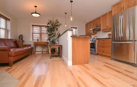 Natural Maple With Sap Wood On Hardwood Flooring