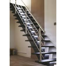 escalier 2 quart tournant leroy merlin escalier droit gomera structure médium mdf marche médium mdf