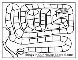 Things In Our House Game Free Printable