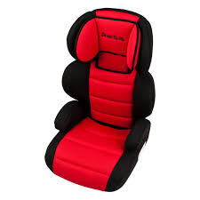 Dream On Me Deluxe Booster Car Seat In Black And Pink