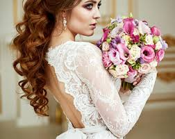 Wedding Dress Renaissance Lace Bohemian Long Sleeve