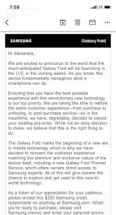 Samsung Cancels Original Galaxy Fold Preorders, But Offers ... How To Edit Or Delete A Promotional Code Discount Access Pin By Software Coupon On M4p To Mp3 Convter Codes Samsung Cancels Original Galaxy Fold Preorders But Offers 150 Off Any Phone Facebook Promo Boost Mobile Hd Online Coupons Thousands Of Printable Find Codes For Almost Everything You Buy Astrolux S43s Copper Flashlight With 30q 20a S4 Free Online Coupon Save Up Samsung Sent Me The Ultimate Bundle After I Weddington Way Tablet 3 Deals Canada Shooting Supply Premier Parking Bwi Coupons