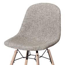 esszimmer stühle in grau stoff fabricus 2er set