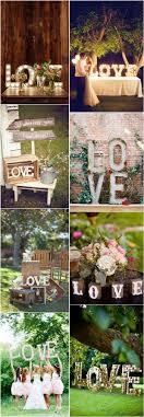 Rustic Vintage Wedding Decor Ideas Love Letter Theme