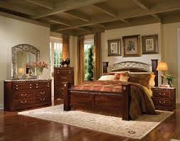 Triomphe Brown Cherry Master Bedroom Set