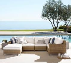 Home Design Fascinating Pottery Barn Outdoor Wicker Furniture