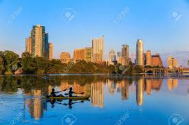 100 Austin City View Of Texas Downtown Skyline Stock Photo Picture And