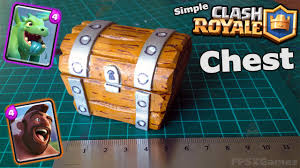Making A Large Toy Box by Making A Simple Clash Royale Chest Creative Geek Pinterest