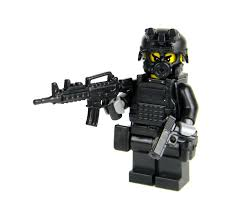 SWAT Police Officer Assaulter Made With Real LEGO(R) Mini-Figure ... Lego Creations Swat Suv Games For Kids With Best Online Price In Malaysia Lego Truck Moc Building Itructions Youtube Custommoc Truck And Jeep New Designs Lenco Bearcat Griffs Custom Lego Weapons Swat Team Custombricksde Custom Moc City Police Gign Raid Gru Van For Sale Hot Wheels Combat Medic Review 708 Super Cycle Chase Rebrickable Build With Movie The Hobby Heaven