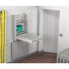 planche a langer murale table à langer murale et pliable hêtre blanc laqué at4 pas cher