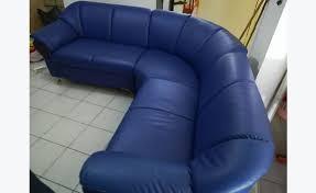 canape d angle bleu canapé d angle bleu annonce meubles et décoration capesterre