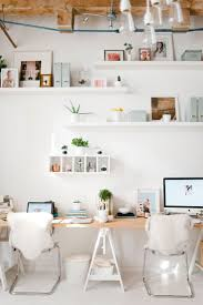 The 25+ Best Office With Two Desks Ideas On Pinterest | White ... Home Office Ideas In Bedroom Small For Two Designs 2 Person Desk With Hutch Tags 26 Astounding Decoration Interior Cool Desks Design Cream Table Bedrocboiasikeamodernhomeoffice Wonderful With Work Fniture Arhanm Entrancing Country Style Sweet Brown Wood Computer At Appealing Photos Best Idea Home Design