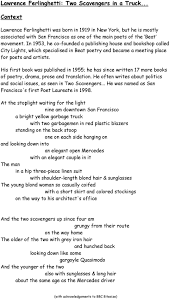 Lawrence Ferlinghetti: Two Scavengers In A Truck... - PDF Ava Reviews Ashok Mahajan Goan Vignettes And Other Poems Poem Writing Exercises Kubreeuforicco Amazoncom A Gift For Trucker 181 Touching 8x10 Poem Double Poet Drives A Truck By About Lowell Levant Cheap Poetry By Poets Find Deals On Line At Alibacom Over The Road Driver 9781491748503 Bill What I Mean When Say Spring Reading Dr Cc Mabel L Criss Library 30 Cute Love Him With Images Ky National Guard History The Driving Force Texas Fontanella Three