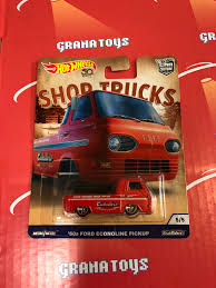 100 Ford Econoline Truck 60s Pickup Caballero 2018 Hot Wheels Car Culture