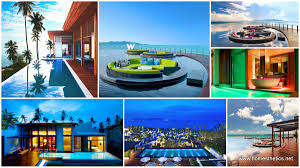 100 W Hotel Koh Samui Thailand Luxurious Retreat In Exuding The Ultimate Level