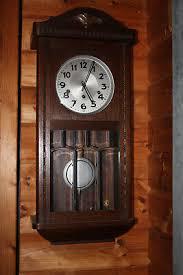 wanduhr holz 75 cm wohnzimmeruhr esszimmer wanduhren uhr neu