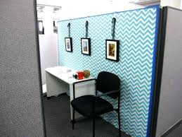 Decorating Office Walls Professional Wall Decor Ideas Model Cubicle Cubicles Blue