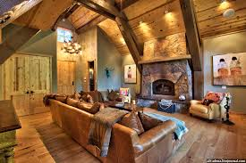 Rustic Style House Interior Design Mountain Luxury Home