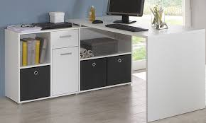 Ikea Borgsjo White Corner Desk by Flexi Corner Desks With Storage Groupon Goods Intended For Corner