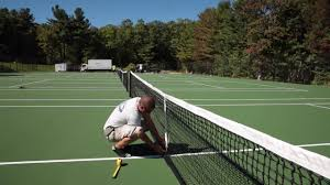 Post Tensioned Concrete Tennis Court Construction - YouTube Hamptons Grass Tennis Court Zackswimsmmtk Wish List Pinterest Brilliant Design How Much Is A Basketball Court Easy 1000 Ideas Unique To Build In Backyard Sport Cost With Awesome Sketball Outdoor Sport Tile Backyards Enchanting An Outdoor Tennis 140 To Make The Concrete Slab Is Great Exercise For The Whole Residential Sportprosusa Goods Half Can Add On And Paint In Small Pinteres Multi Poles Voeyball