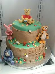 Winnie The Pooh Baby Shower by Winnie The Pooh Baby Shower Cake Bluerett Cakes Flickr