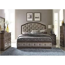 487 br15hu Liberty Furniture Amelia Bedroom King Upholstered Bed