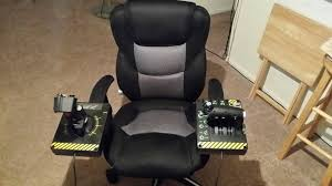 100 Wood Gaming Chair Help Me Find This Gaming Chair Had Attachments For HOTAS