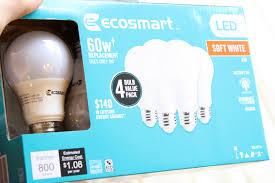 ecosmart led light bulb review