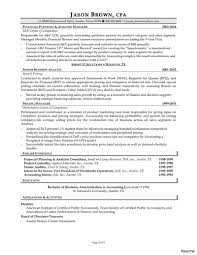 Accountant Resume Examples Awesome Accounting Sample Fresh Senior Resumes Of