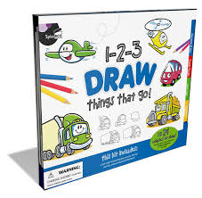 100 Cars And Trucks And Things That Go 123 Draw Activity Folders