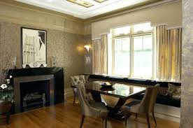 Art Deco Room Modern Dining Rooms Decorating Ideas On