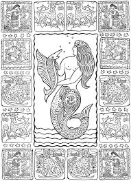 Creative Haven Mexican Folk Art Coloring Book Dover Publications