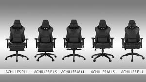 GAMDIAS Achilles Gaming Chairs Comparison (P1, M1, And E1)