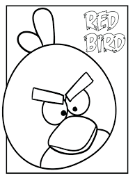 Coloring Pages Angry Birds Epic Free Of Prey Robin Print For Kids Realistic Full Size